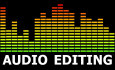 edit your AUDIO files