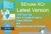 give you Senuke xcr latest and How to create email