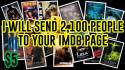 tell 2,100 People To Visit Your IMDb Page