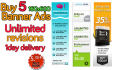 create Banner Ads 160 x 600 Extra Fast With UNLIMITED Revisions