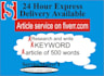 research and write keyword article of 500 words