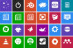 make Professional Apps icons in 24 hours unlimited revisions
