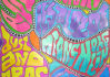 create a psychedelic drawing of your name or logo