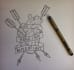 design a custom line drawing design of what you would like