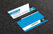 design PROFESSIONAL double sided printable business card