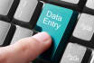 do time bound Data entry work for you