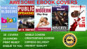 design an amazing ebook or kindle cover