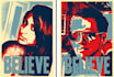 transform your photo to typical Obama poster style