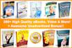 send 350 Self Improvements eBooks, Reports and 9,000 PLR Article
