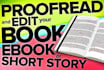 manually proofread and edit your writing