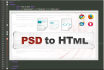 convert psd to html templates with responsive