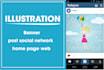 ilustrar Banners web y post para redes sociales