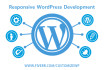 design develop RESPONSIVE WordPress website
