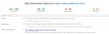 seo report, do onpage se0 with in 4 hours