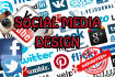 design an eye catching Social Media Cover and web banner