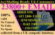 deliver 40K customers email list of UK