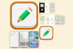 design iOS7 or Android mobile app icon
