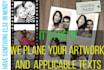 design unique graphic collage or photo manipulation work