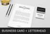 design clean professional Business Cards and Letterhead