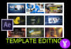 customize your After Effects templates