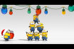 do FUNNY Minions greeting video for Christmas and New Year