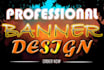 design Professional Web BANNER Ads