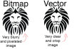 vectorize your bitmap or illustration