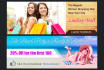 design an Attractive  Static header or banner or bill board