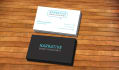 design amazing,clean double side business card for you