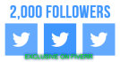 give you 2000 Twitter USA Base Real followers