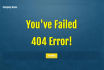 make a 404 Page not found for your Website