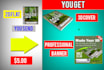 make 3D kindle cover and professional banner