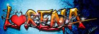 fazer um grafite de seu nome
