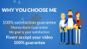create Two HD animation  videos for your Fiverr gigs in 24 hrs