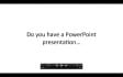 make your PowerPoint into a video