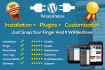 create Responsive, professional, easily manageable Wordpress Website