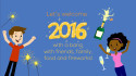 create this animated video to Wish Happy New Year