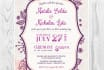 design a beautiful wedding invitation for you