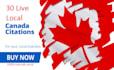 manually create 30 CANADA Live Local listings