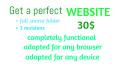make you a perfect website