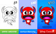 design a cute childrens cartoon illustration for you