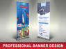 design Roll up banners for Digital Printing