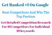 do competitor analysis for your top 10 SEO Keywords
