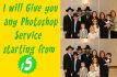 provide any Photoshop service