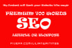 do seo optimized Article Writing in 24 hours