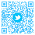 2 High Res QR Codes w Social Logo or colored