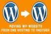move Wordpress site in 24 hours