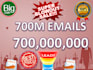 700 Million Email Lists , you can RESELL