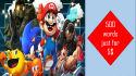write PERFECT description of online video games