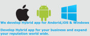 create Hybrid Mobile app for Android,iOS,Windows